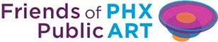Friends of PHX Public Art logo