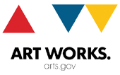 Art Works. arts.gov logo