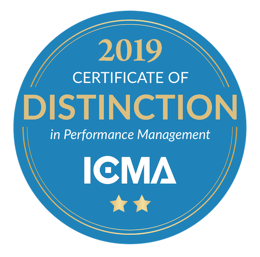 Image of 2018 ICMA Award