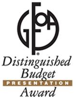 Image of GFOA Budget Award