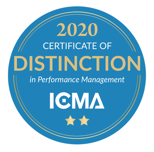 Image of 2020 ICMA Award
