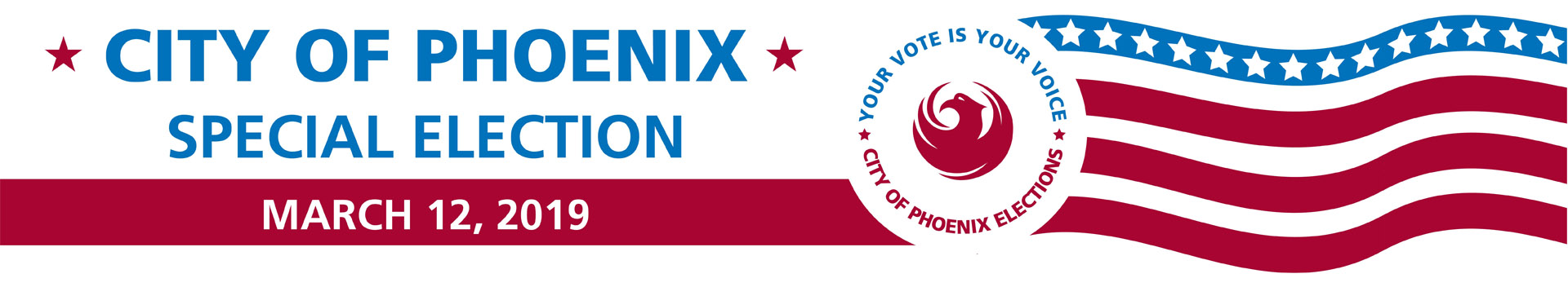 City of Phoenix, Special Elections, March 12, 2019