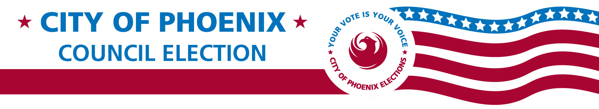Banner: City of Phoenix official election results