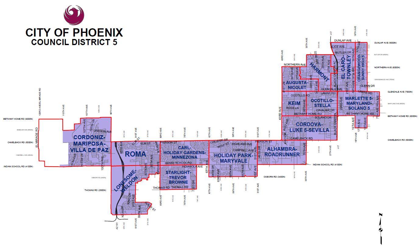 City Council District 5 on