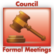 council formal meetings