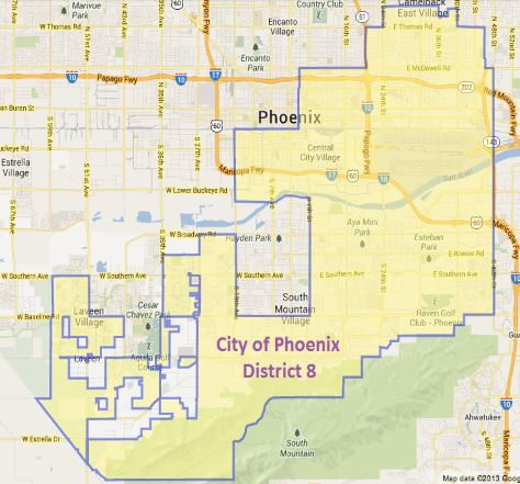 City Council District 8 on cities of metro phoenix, thematic map of phoenix, political map of phoenix, demographic map california, demographic map texas, aerial of phoenix, racial map of phoenix, demographic map arizona, general map of phoenix, crime map of phoenix,
