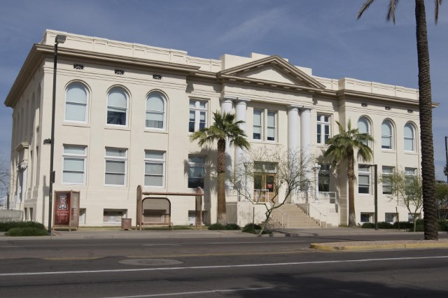 historic phoenix union high school building