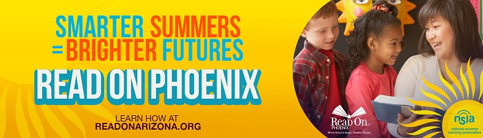 Smarter Summers. Brighter Futures. Read On Phoenix.