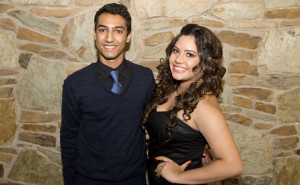 Parth Pavel and Genesis Miranda, 2013 Young Man and Young Woman