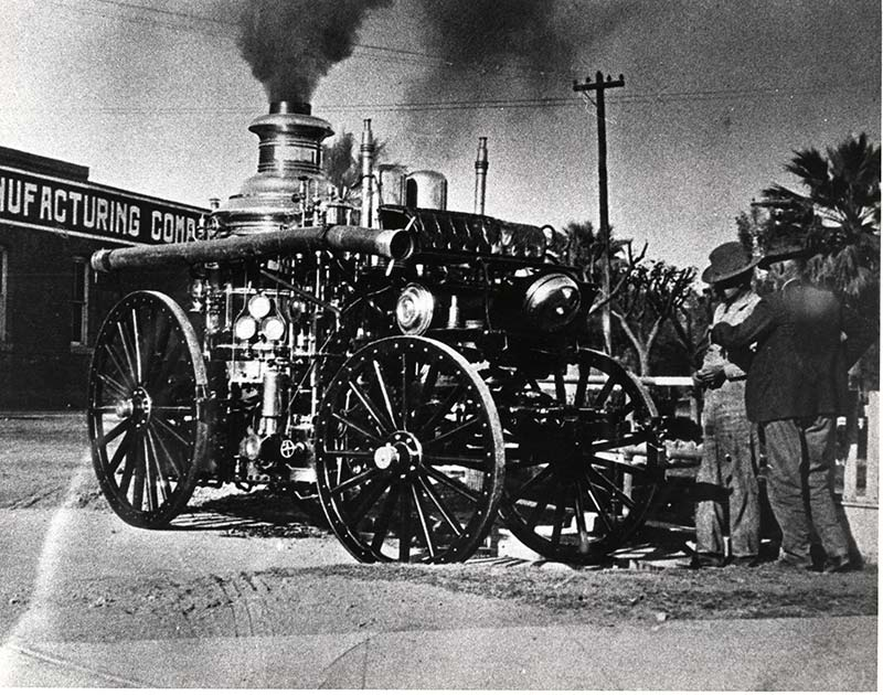 Fire Steam engine