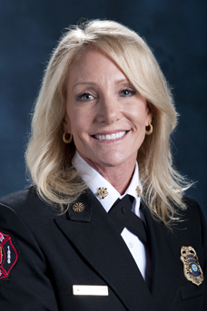 Fire Chief Kara Kalkbrenner