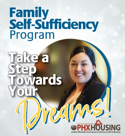 image promoting the family self sufficiency program