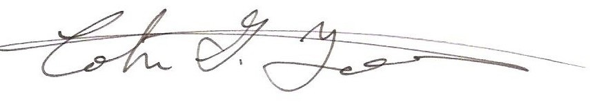 Colin Tetreault signature