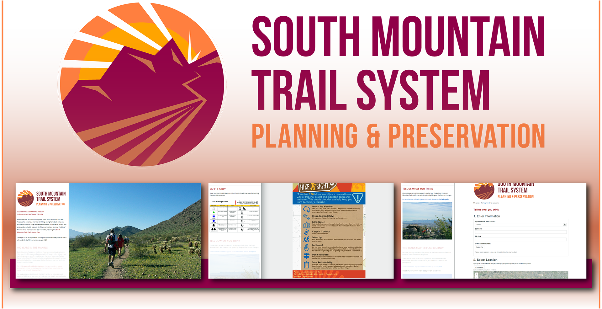 South Mountain Park Trails Master Plan
