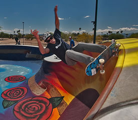 Parks And Recreation Desert West Skate Park