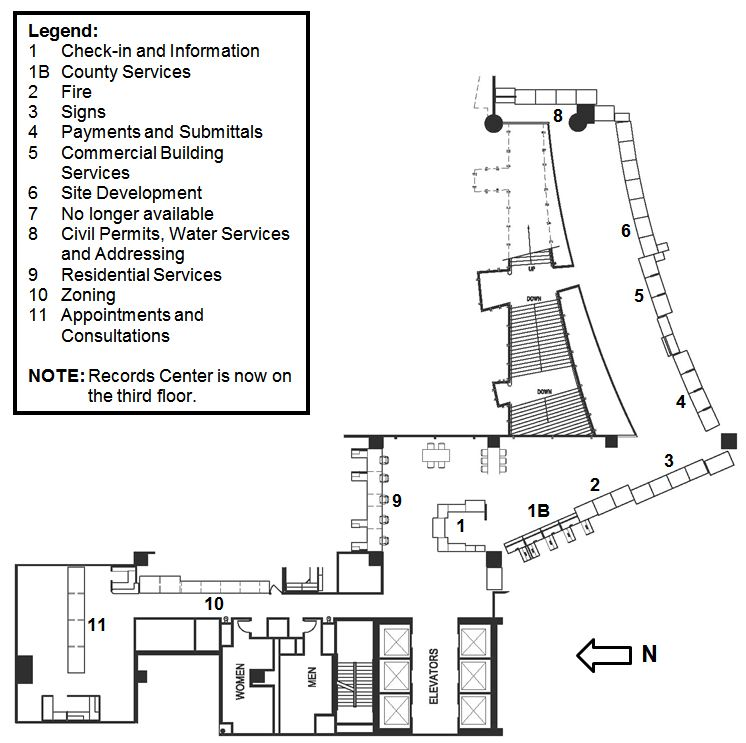 DSD Image Development Center 2nd Floor Map