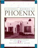 book cover of Historic Homes of Phoenix