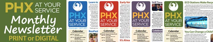 PHX At Your Service Monthly Newsletter