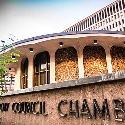Phoenix City Council meeting chambers