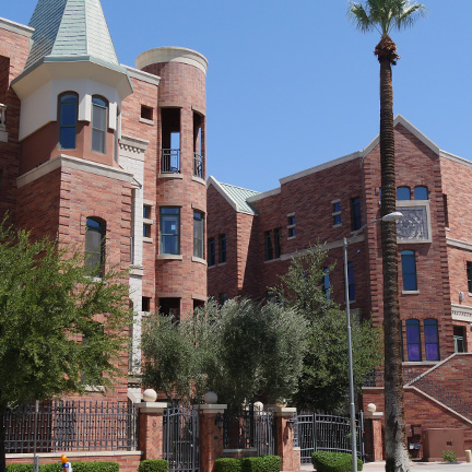 Upscale housing near Downtown Phoenix