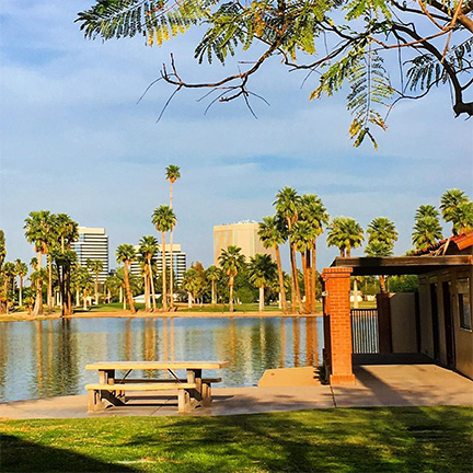 Lakeside in Encanto Park
