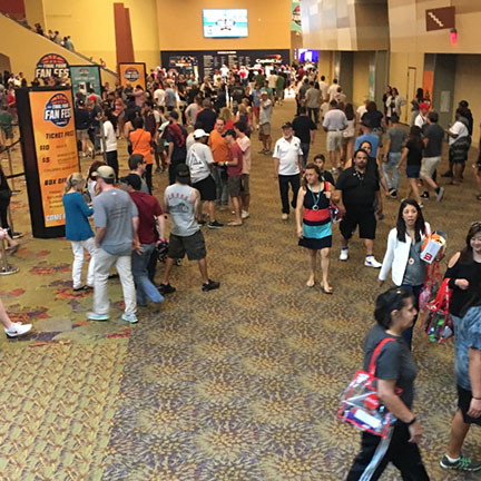 Final Four Fan Fest at the Phoenix Convention Center