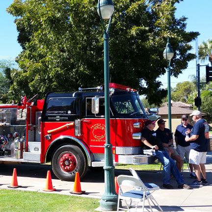 Open house at a historic Phoenix fire station