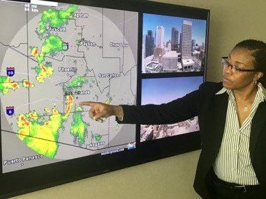 Lisa Monitoring weather