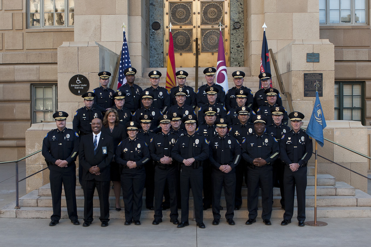 Group of Executive and Command Staff - PD