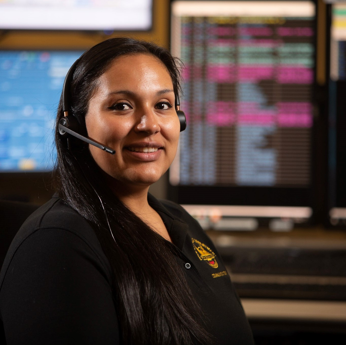 female dispatcher