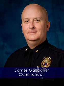 Commander James Gallagher portrait