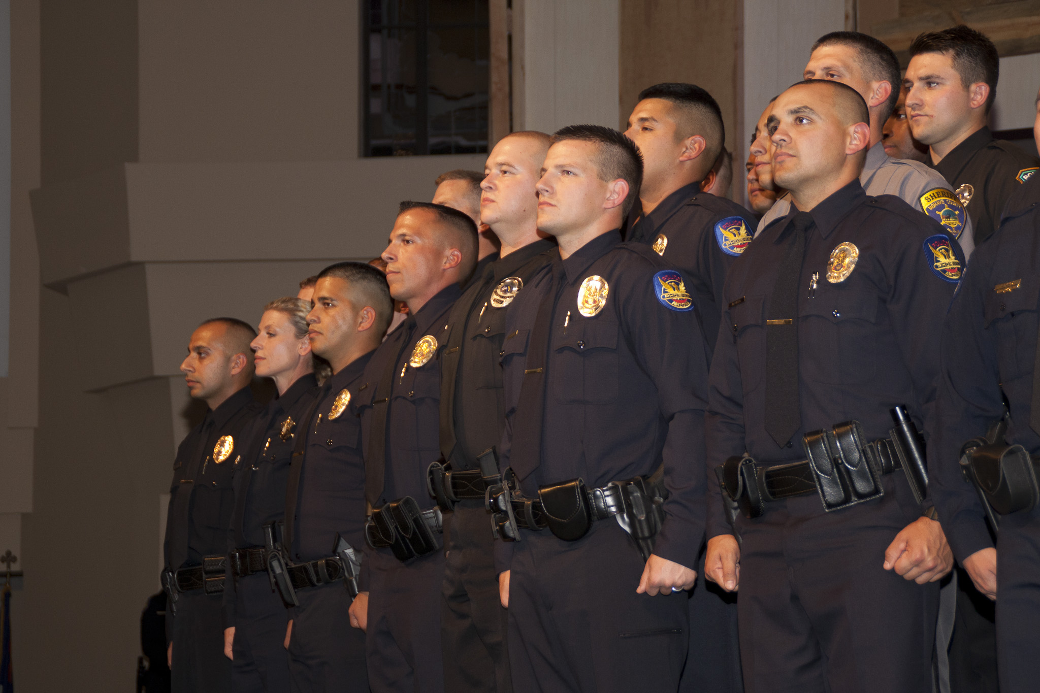 Police Officers Reaffirm Their Oath of Office – Oath of Office Template