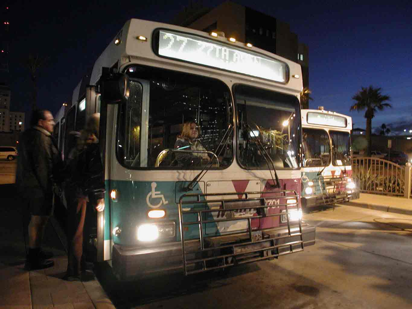 Bus at Night 2