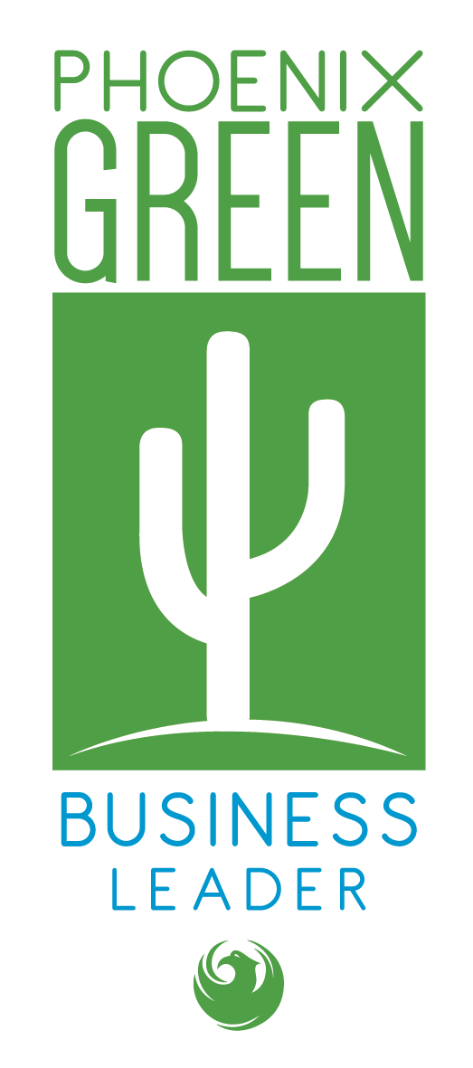 Phoenix Green Business Leader logo