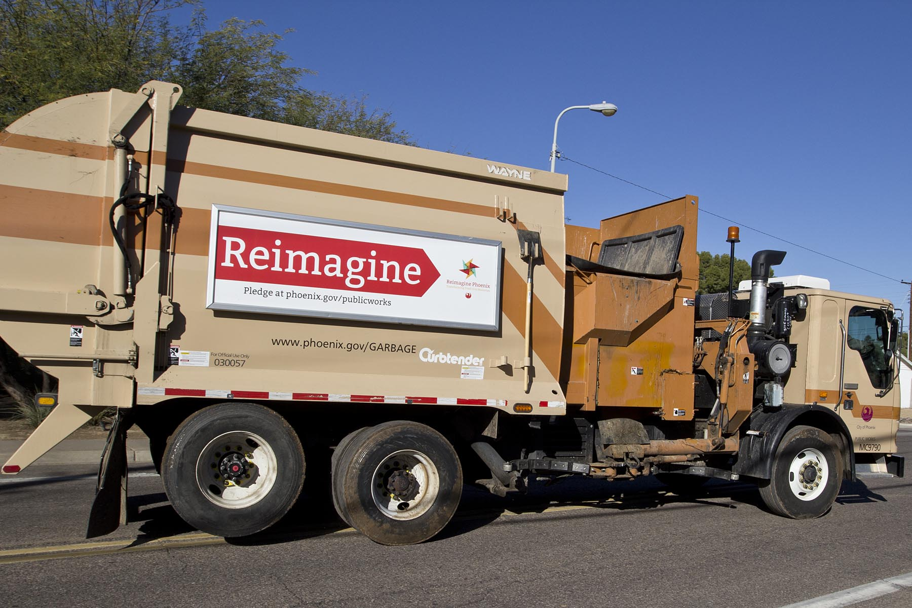 Reimagine recycle truck