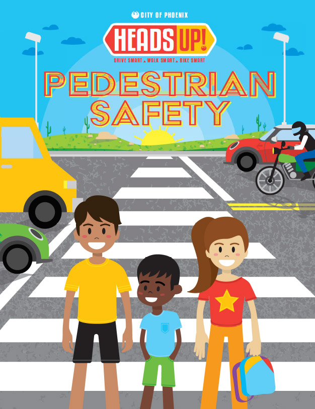 Heads Up Pedestrian Safety Activity Book