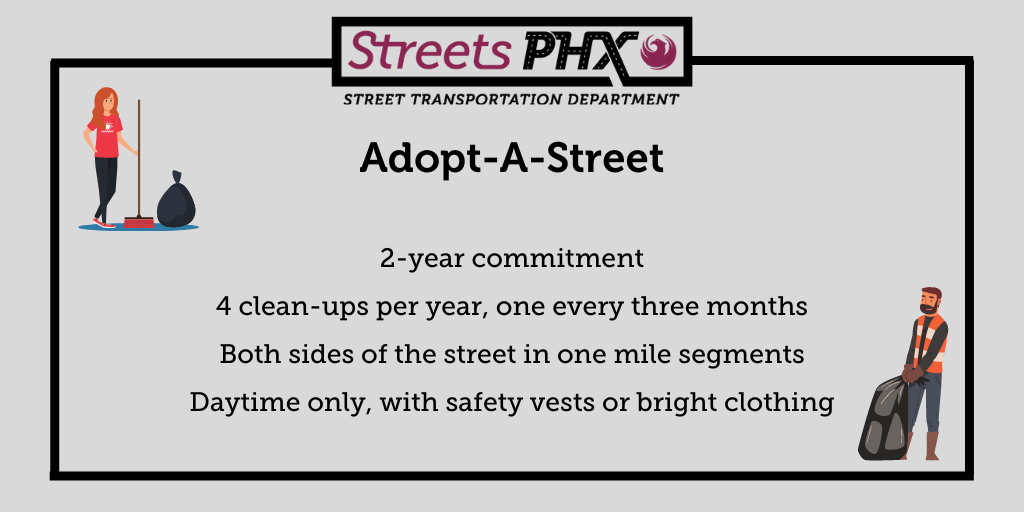 Adopt-A-Street Infographic