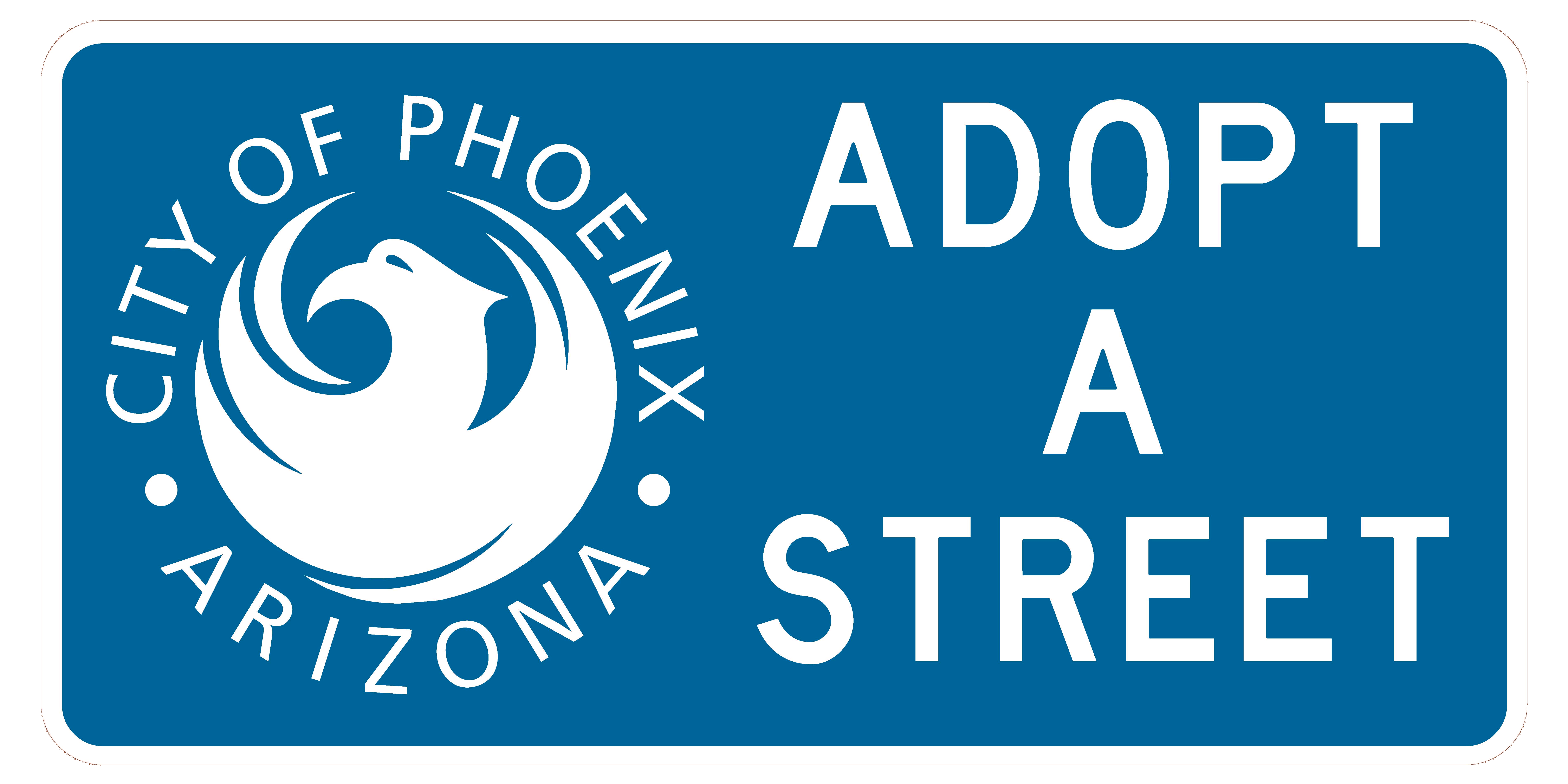 Photo of an Adopt-A-Street Sign