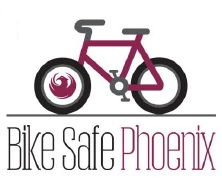 Bike Safe Phoenix illustration