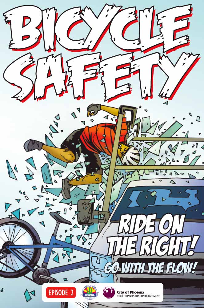 Bicycle Safety - ride on the right!