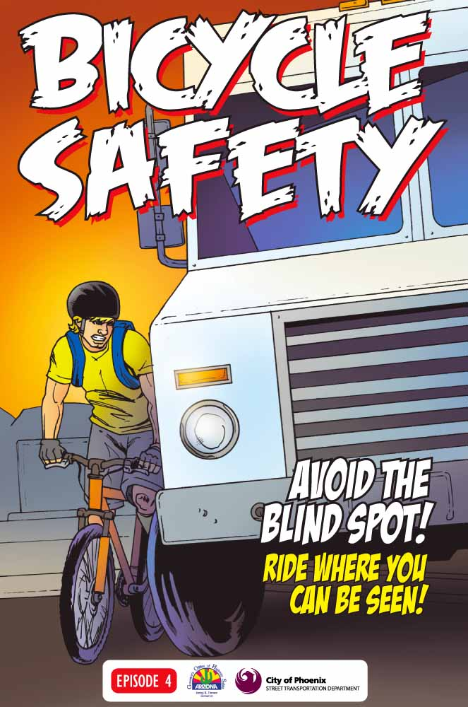 Bicycle Safety - avoid the blind spot