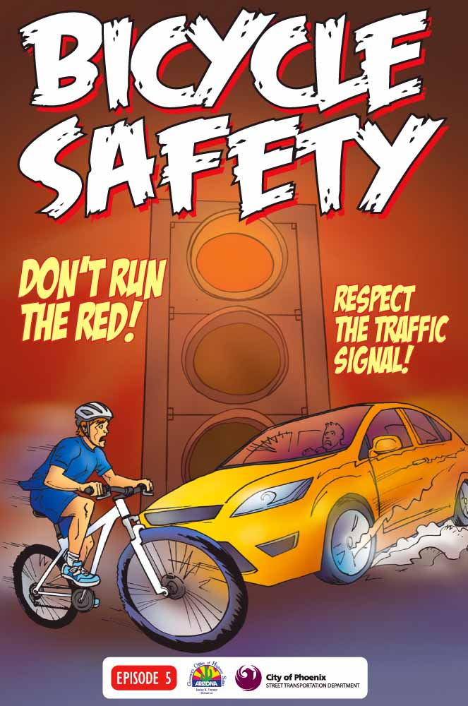 Bicycle Safety - Dont run the red