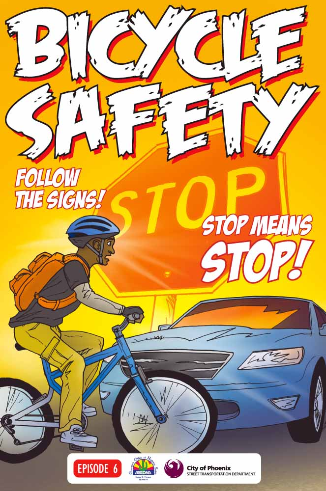 Bicycle Safety - stop means stop