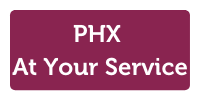 phx at your service logo