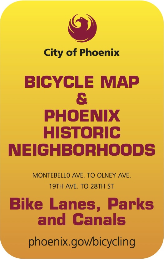 Badge: Bicycle map