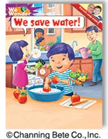 we save water book cover