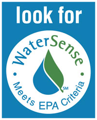 Look for watersense logo, meets EPA criteria