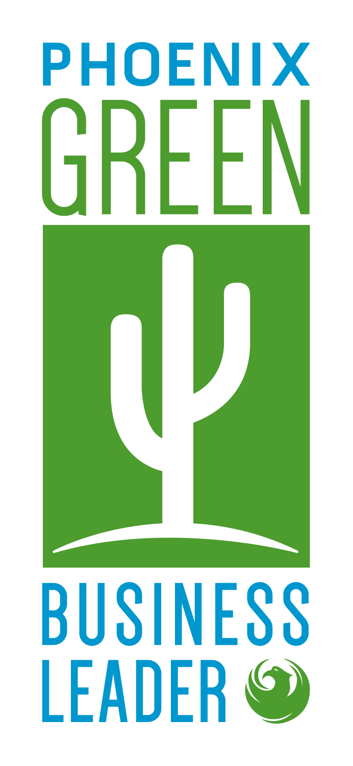 Green Business leader logo.