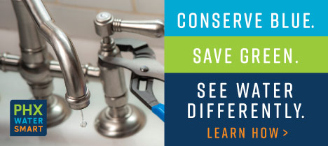 Conserve Blue. Save Green. See Water Differently.